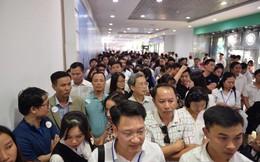 Hàng nghìn người chen chân xem nhà mẫu VinCity