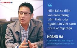 """Ông Hoàng Hà: Nếu để suy nghĩ """"xe đạp điện"""" ăn sâu vào tiềm thức người dùng, xe máy điện không có cửa cạnh tranh với xe xăng"""