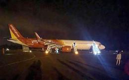 Máy bay Vietjet gặp sự cố khi hạ cánh tại sân bay Buôn Ma Thuột