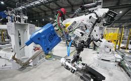 Hé lộ những hình ảnh đầu tiên về 1.200 robot chuẩn bị đi vào hoạt động tại nhà máy ô tô VinFast