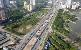 Video: Đường vành đai 1.500 tỷ đồng/km ở Hà Nội sau 1 năm thi công nhìn từ flycam
