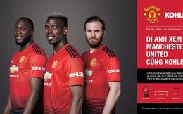 Kohler United - Mua sản phẩm Kohler với ưu đãi đến 40% và cơ hội đi Anh xem trận cầu Manchester United