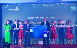 Vietcombank ra mắt thẻ tín dụng hoàn tiền không giới hạn và cao nhất thị trường