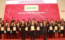 Nam A Bank - Top 500 doanh nghiệp lợi nhuận tốt nhất 2018