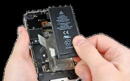 Sau ngày 31.12, người dùng iPhone phải trả 2 triệu đồng để thay pin