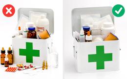 7 lưu ý về cách sắp xếp, sử dụng tủ thuốc gia đình mà nhiều người bỏ qua: Tưởng đơn giản nhưng ảnh hưởng trực tiếp tới sức khoẻ