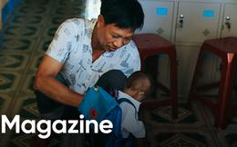 Thầy khổng lồ bé tí hon giữa núi rừng Quảng Ngãi: Chuyện cổ tích của tình yêu thương