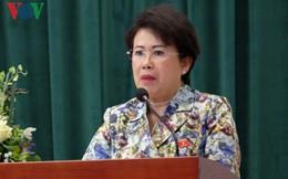 Bà Phan Thị Mỹ Thanh về làm tại Mặt trận Tổ quốc tỉnh