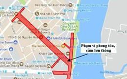 Tết Mậu Tuất 2018: Đêm giao thừa bắn pháo hoa, cấm xe nhiều đường trung tâm TPHCM