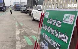 """Tài xế """"bỡ ngỡ"""" trước trạm thu phí tự động cầu Đồng Nai"""