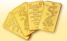 Giá vàng giảm nhẹ ngày đầu năm mới