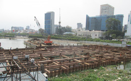 TP.HCM: Dự án chống ngập 10.000 tỷ chậm tiến độ do đâu?