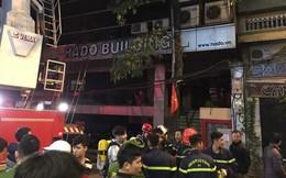 Vụ cháy nhà hàng Bếp Mường: Lực lượng chức năng cứu được 17 người