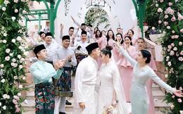 """Có gì ở đám cưới cực kì xa hoa của """"người thừa kế"""" xứng đôi nức tiếng hội con nhà giàu Châu Á"""