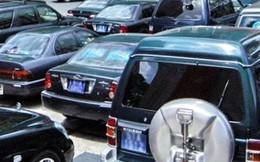 Tổng cục Đường bộ thanh lý ôtô giá từ hơn 6 triệu đồng một chiếc