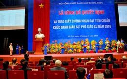Thủ tướng yêu cầu rà soát, bảo đảm chất lượng bổ nhiệm chức danh giáo sư, phó giáo sư