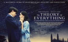 """""""Thuyết yêu thương"""" - bộ phim nhiều cảm xúc nghẹn ngào mà bạn nhất định phải xem để hiểu thêm về nhà bác học vĩ đại Stephen Hawking"""