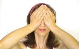 Nếu bạn cảm thấy mỏi mắt sau thời gian dài làm việc, hãy thử các bài tập đơn giản sau