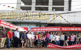 Chủ đầu tư nhà ở xã hội AZ Thăng Long muốn phá hợp đồng, dân bức xúc