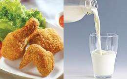 Hàng loạt bệnh xuất hiện khi cùng lúc ăn thịt gà và uống sữa tươi, cần tránh ngay