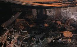 Cảnh tan hoang bên trong chung cư Carina Plaza sau vụ cháy làm 13 người chết
