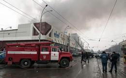 Số thương vong trong vụ cháy trung tâm thương mại ở Nga tăng mạnh