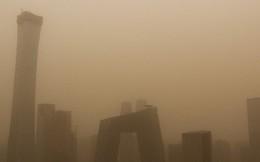 Cát bụi bao phủ Bắc Kinh và 9 tỉnh bắc Trung Quốc