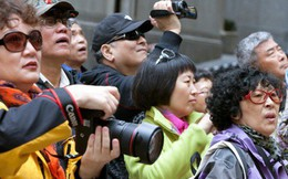 Khách Trung Quốc và Hàn Quốc chiếm hơn một nửa lượng khách quốc tế đến Việt Nam