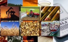 Giá kim loại, than, cao su, dầu cọ, phân bón đều giảm mạnh trong tháng 3 và quý 1