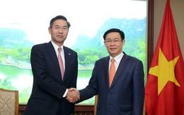 Phó Thủ tướng Vương Đình Huệ mong muốn Sumitomo Mitsui đóng vai trò tích cực hơn nữa trong tái cơ cấu Eximbank