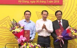 Hà Giang bổ nhiệm nhân sự mới