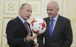 Tổng thống Putin tâng bóng chào đón World Cup 2018