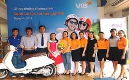 Gần 1.000 khách hàng trúng vàng khi gửi tiền tại VIB