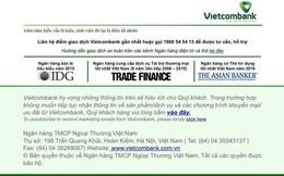 """Vụ website Vietcombank """"bị hack"""" ngày 13/4: Do cán bộ kỹ thuật sơ suất"""