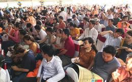 TP.Hồ Chí Minh: Chen chúc nhau đi mua đất nền