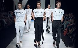 Owen bùng nổ trong bộ sưu tập nam bắt tay với Hoàng Minh Hà