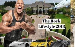 Gã khổng lồ Dwayne Johnson: Ở nhà triệu đô, đi siêu xe khủng, máy bay nhanh nhất thế giới