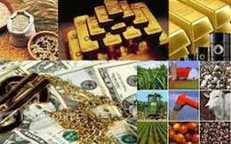 Thị trường hàng hóa ngày 26/4: Vàng thấp nhất 5 tuần, đường giảm sâu