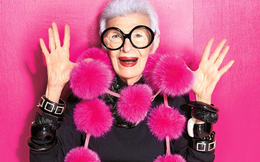 Biểu tượng thời trang tuổi 96 Iris Apfel: Với tôi, một chút hài hước, mơ mộng, tò mò và không ngừng làm việc là liều thuốc níu giữ thanh xuân