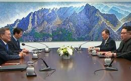 """Phát biểu khai mạc thượng đỉnh, ông Moon Jae-in gọi ông Kim Jong-un là """"đồng chí Kim"""""""