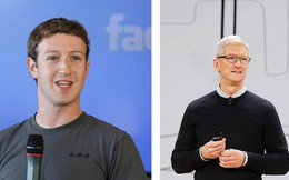 """Sếp Facebook và Apple """"khẩu chiến"""" giữa khủng hoảng bảo mật dữ liệu"""