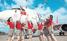 """Bay nhanh như Vietjet, sau 1 năm """"cất cánh"""" đã gia nhập nhóm công ty vốn hóa 100.000 tỷ đồng"""