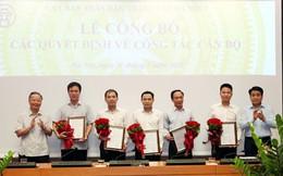 Hà Nội bổ nhiệm 5 Phó Giám đốc Sở và Ban Quản lý dự án