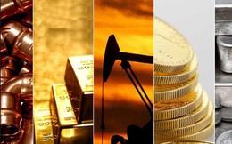 Thị trường hàng hóa ngày 12/5: Dầu và đậu tương giảm; sắt thép, vàng bạc, cao su tăng