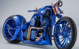 Chiêm ngưỡng chiếc Harley-Davidson được mạ vàng, nạm kim cương có đắt nhất thế giới