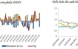 NHNN bơm ròng 15.200 tỷ đồng, thanh khoản hệ thống bớt dư thừa