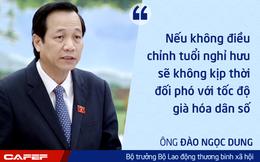 Bộ trưởng Bộ LĐTBXH: Có thể rút ngắn thời gian điều chỉnh tuổi nghỉ hưu nhưng sẽ không ngắn đến mức gây sốc
