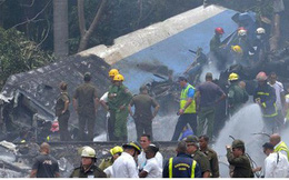 Tai nạn máy bay ở Cuba, hơn 100 người thiệt mạng
