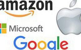 [Infographic] Cuộc đua trở thành công ty 1.000 tỷ USD đầu tiên của các 'ông lớn' công nghệ