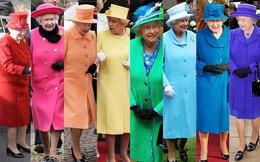 Nữ hoàng Anh Elizabeth II với phong cách thời trang nổi bật trong đám cưới cháu trai